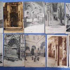 Postales: LOTE DE 51 POSTALES DE TOLEDO - VER TODAS LAS FOTOS. Lote 153213502