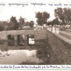 Postales: MANZANARES (CIUDAD REAL). POSTAL FOTOGRÁFICA. (RARA).. Lote 153700970