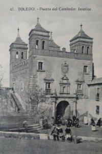 TOLEDO Puerta del cambrón (interior)