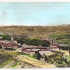 Postales: BRIHUEGA (GUADALAJARA) PLAZA DE TOROS Y JARDINES. CARTERÍA DE CASTILMIMBRE.. Lote 154065682