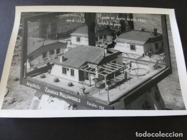 Postales: CIUDAD REAL POBLADO SANTA MARIA DE ALARCOS 11 FOTOGRAFIAS TAMAÑO POSTAL BENDICION OBRAS INAUGURACIÓN - Foto 6 - 154416550