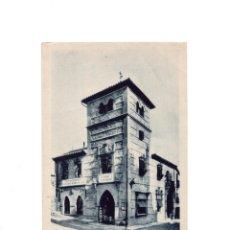 Postales: TOLEDO - PROPAGANDA. TALLER DAMASQUINADOS Y BORDADOS TOLEDANOS. ABELARDO LINARES. Lote 154611370