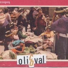 Postales: ETNICA MERCADO HUANCAYO PERU ESCRITA,. Lote 155074130