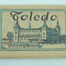 Postales: ALBUM ACORDEON TOLEDO PRIMERA SERIE HELIOTIPIA ARTISTICA ESPAÑOLA. Lote 155235310