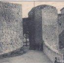 Postales: BRIHUEGA (GUADALAJARA) - PUERTA DEL RECINTO DEL CASTILLO. Lote 155532402