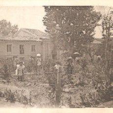 Postales: GUADALAJARA LA ISABELA UNA DE LAS FACHADAS DEL BALNEARIO 1911. Lote 155659202
