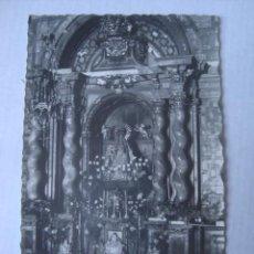 Postales: POSTAL SIGÜENZA. CATEDRAL ALTAR DE NUESTRA SEÑORA LA VIRGEN DE LA MAYOR (FOX, 1960). GUADALAJARA. Lote 155962078