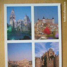 Postales: TOLEDO - VARIOS (ESCRITA). Lote 155977834
