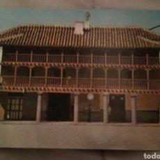 Postales: POSTAL 1963 POSADA LOS PORTALES TOMELLOSO CIUDAD REAL. Lote 156001474
