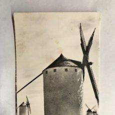 Postales: CRIPTANA (CIUDAD REAL) POSTAL NO.36, MOLINOS DE VIENTO. EDITA: FOTO SALAS (H.1950?). Lote 156002834