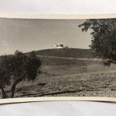 Postales: MORA (TOLEDO) POSTAL ERMITA DE NUESTRA SEÑORA DE LA ANTIGUA. EDITA: FOTOS ALBERTO (H.1950?). Lote 156013284