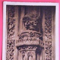 Postales: TOLEDO. 157 SAN JUAN DE LOS REYES. CLAUSTRO-CAPITEL GÓTICO. ROISIN. NUEVA. BLANCO/NEGRO. Lote 156017613