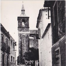 Postales: TORRENUEVA (CIUDAD REAL ) - CALLE Y TORRE DEL PUEBLO. Lote 156448210