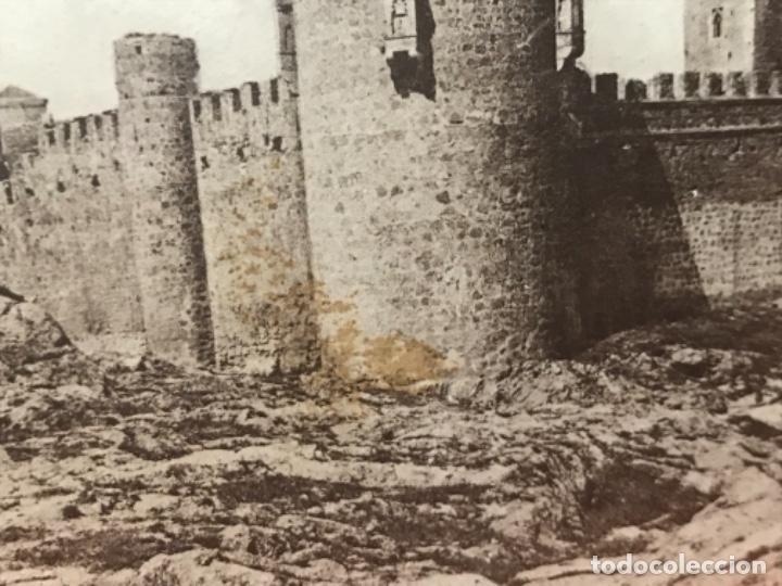 Postales: toledo fot casiano alguacil castillo de san servando reverso publicidad toledo casa agaudo 1900 - Foto 2 - 157773382