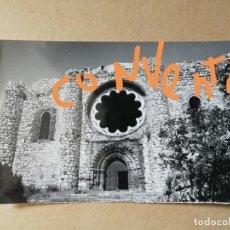 Postales: POSTAL DE CALZADA DE CALATRAVA. CIUDAD REAL. SACRO CONVENTO. ENTRADA A LA IGLESIA.. Lote 158678982