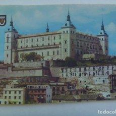 Postales: POSTAL DE TOLEDO : EL ALCAZAR . AÑOS 60.. Lote 158763614