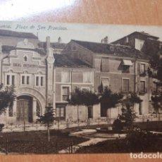 Postales: CUENCA. PLAZA DE SAN FRANCISCO. EDICIONES GARAY. Lote 158916458