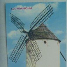 Postales: POSTAL DE LA MANCHA : MOLINOS. Lote 160303710