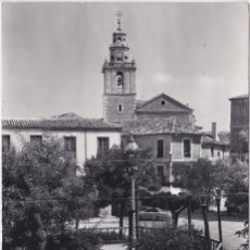Postales: TARANCON (CUENCA) - PLAZA DEL CAUDILLO. Lote 160524778
