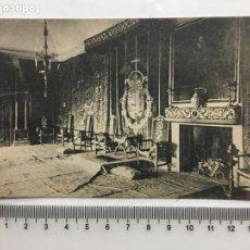 Postcards - POSTAL. EL ESCORIAL. PALACIO. SALÓN DE AUDIENCIAS. HIJO DE NICOLÁS SERRANO. H. 1920?. - 160554697