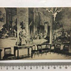 Postcards - POSTAL. EL ESCORIAL. PALACIO. HABITACIÓN DE TAPICES DE TENIERS. HIJO DE NICOLÁS SERRANO. H. 1920?. - 160554896