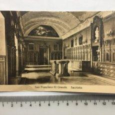 Postcards - POSTAL. MADRID. SAN FRANCISCO EL GRANDE. HAUSER Y MENET. H. 1920?. - 160555622