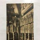 Postales: POSTAL. S. FRCO. EL GRANDE. SACRISTÍA. SILLERÍA. HAUSER Y MENET. MADRID. H. 1920?.. Lote 160556825
