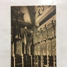 Postcards - POSTAL. S. FRCO. EL GRANDE. SACRISTÍA. SILLERÍA. HAUSER Y MENET. MADRID. H. 1920?. - 160556825