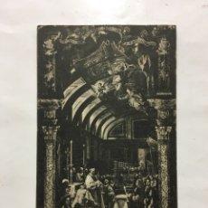 Postcards - POSTAL. EL ESCORIAL. SACRISTÍA. LA SAGRADA FORMA. HIJO DE NICOLÁS SERRANO. H. 1920?. - 160573920