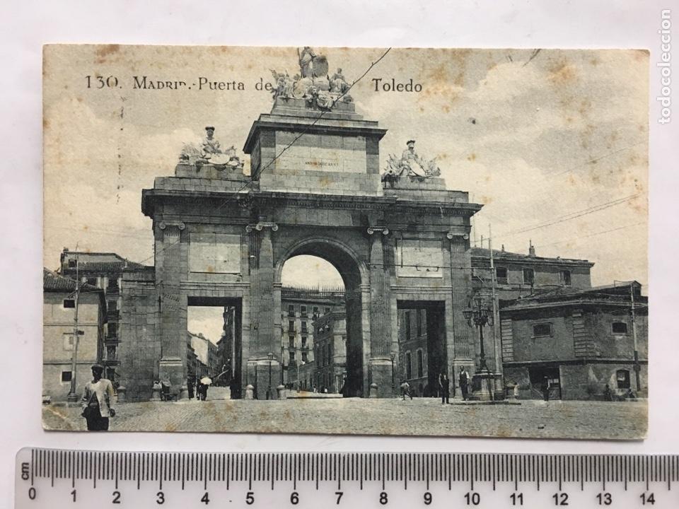 POSTAL. MADRID. PUERTA DE TOLEDO. GRAFOS. H. 1920?. (Postales - España - Castilla La Mancha Antigua (hasta 1939))