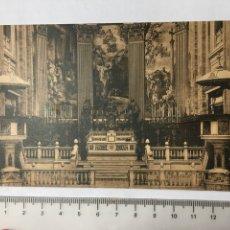 Postcards - POSTAL. S. FRANCISCO EL GRANDE. DETALLE ALTAR MAYOR. FOTOTIPIA HAUSER Y MENET. MADRID. H. 1920?. - 160701764
