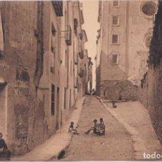 Postales: CUENCA - CALLE DEL PILAR (TIPICA). Lote 162327074