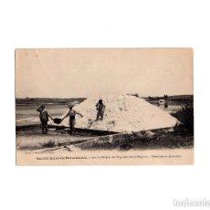 Postales: LA HIGUERA.- LAGO DE SULFATO DE MAGNESIO - SOCIETE GENERALE BARCELONAISE. PIRAMIDE EN FORMACIÓN.. Lote 164213138