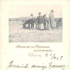 Cartes Postales: ALMURADIEL.- NAVAS DE LA CONDESA. Lote 164541302