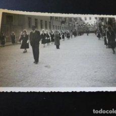 Postales: MOTILLA DEL PALANCAR CUENCA PROCESION VIRGEN FOTOGRAFIA TAMAÑO POSTAL. Lote 164626030
