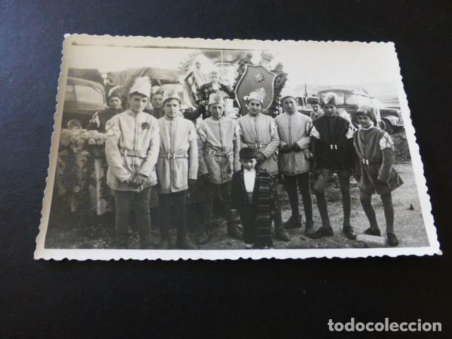 MOTILLA DEL PALANCAR CUENCA PROCESION CALIZ FOTOGRAFIA TAMAÑO POSTAL (Postales - España - Castilla La Mancha Antigua (hasta 1939))
