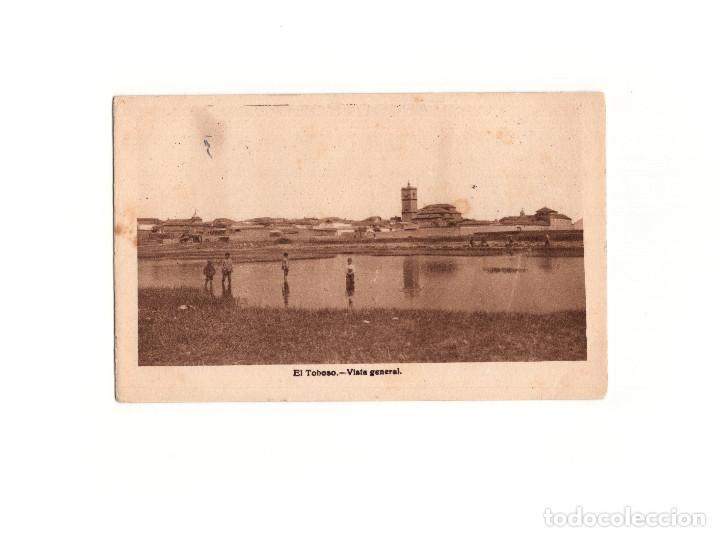 EL TOBOSO.( TOLEDO).- VISTA GENERAL. (Postales - España - Castilla La Mancha Antigua (hasta 1939))
