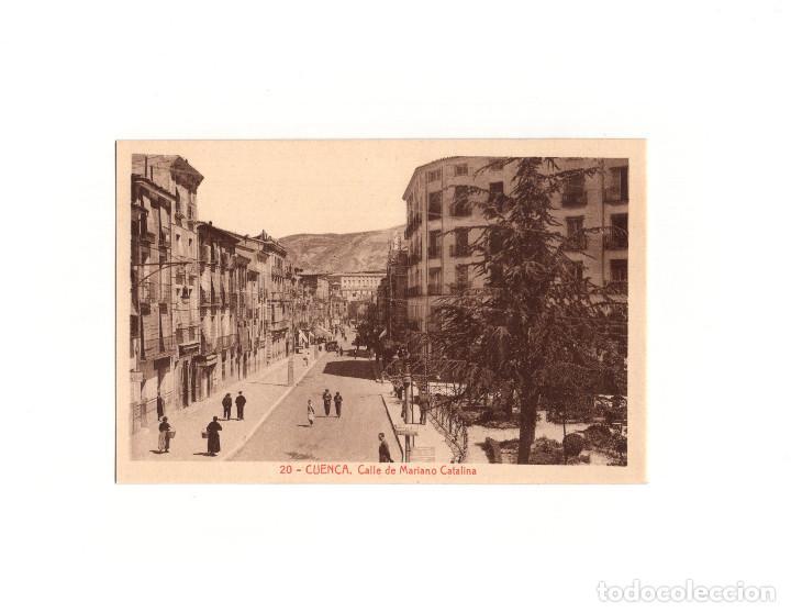 CUENCA.- CALLE MARIANO CATALINA. (Postales - España - Castilla La Mancha Antigua (hasta 1939))