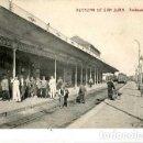 Postales: CIUDAD REAL ALCAZAR DE SAN JUAN ANDENES ( ESTACION FERROCARRIL ) SIN CIRCULAR. Lote 165514726