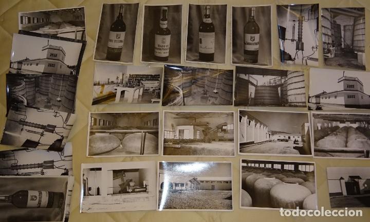 Postales: LOTE DE 30 FOTOS POSTALES DE BODEGAS DE VINO DE VALDEPEÑAS ? CIUDAD REAL ? MÁLAGA?. 90 GR 1155 - Foto 2 - 165550362