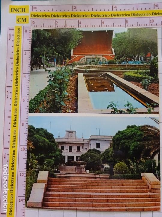 POSTAL DE CIUDAD REAL. AÑO 1971. PUERTOLLANO, AUDITORIUM Y FUENTE LUMINOSA SAN GREGORIO. 1156 (Postales - España - Castilla la Mancha Moderna (desde 1940))