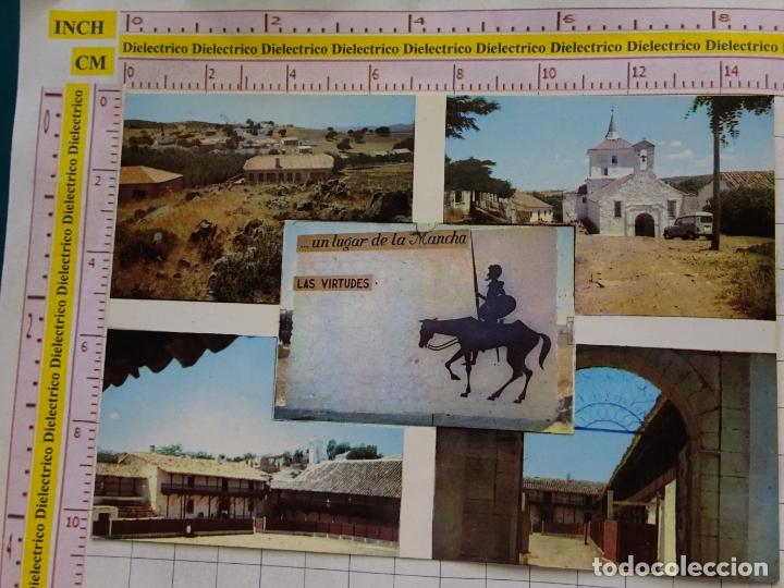POSTAL DE CIUDAD REAL. AÑO 1970. SANTA CRUZ DE MUDELA, SANTUARIO DE LAS VIRTUDES. PLAZA TOROS. 1165 (Postales - España - Castilla la Mancha Moderna (desde 1940))