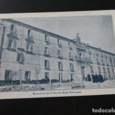 Postales: UCLES CUENCA MONASTERIO FACHADA PRINCIPAL. Lote 165753842