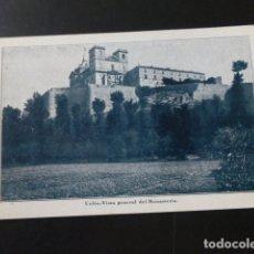 Postales: UCLES CUENCA VISTA GENERAL DEL MONASTERIO . Lote 165753906
