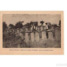 Cartoline: GUADALAJARA.- MIEL DE LA ALCARRIA Y DENTRO DE LA ALCARRIA DE RUGUILLA QUE NO ES MENESTER ALABALLA.. Lote 166201050