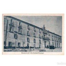 Postales: MONASTERIO DE UCLES.(CUENCA).- FACHADA PRINCIPAL.. Lote 166684414