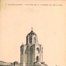Postales: GUADALAJARA, PANTEÓN DE LA DUQUESA DE SEVILLANO. NO DICE EL EDITOR, Nº 7. Lote 166942040