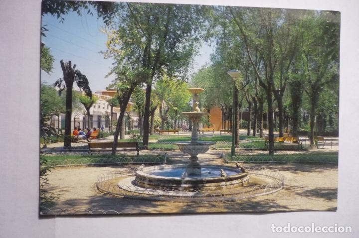 POSTAL TORRIJOS - PARQUE MUNICIPAL --CIRCULADA (Postales - España - Castilla la Mancha Moderna (desde 1940))