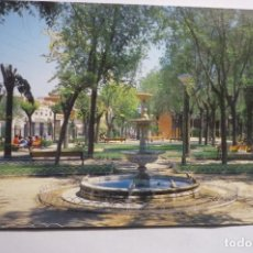 Postales: POSTAL TORRIJOS - PARQUE MUNICIPAL --CIRCULADA. Lote 167458160