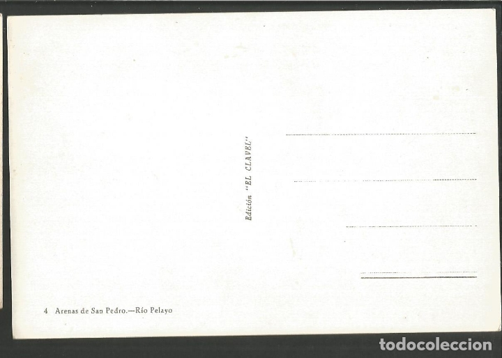 Postales: ARENAS DE SAN PEDRO-RIO PELAYO-4-ED·EL CLAVEL-VER REVERSO-(60.240) - Foto 2 - 167984708